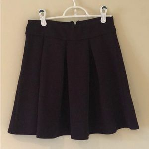 NWT The Limited purple mini skirt